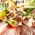 carne · enfeite · fresco · saboroso · comida · verde - foto stock © fiphoto