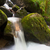moss covered rocks at gertelsbacher waterfalls black forest germany stock photo © fisfra