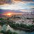 zmierzch · Hiszpania · Cityscape · Madryt · domu · ściany - zdjęcia stock © fisfra
