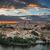 zmierzch · Hiszpania · Cityscape · Madryt · domu · miasta - zdjęcia stock © fisfra