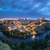 panoramic view of toledo after sunset spain stock photo © fisfra
