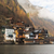 idílico · alpino · lago · aldeia · Áustria · música - foto stock © fisfra
