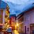 dorp · schemering · klassiek · alpen · Oostenrijk - stockfoto © fisfra