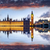 casas · Londres · Inglaterra · noite · ver · céu - foto stock © flotsom
