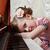kız · piyano · güzel · küçük · kız · müzik · yüz - stok fotoğraf © fogen
