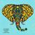 livro · para · colorir · indiano · elefante · tópico · livro · feliz - foto stock © fosin