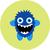 vetor · conjunto · desenho · animado · bonitinho · monstros · festa - foto stock © fosin