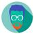masker · bril · collectie · stijl · avatar - stockfoto © fosin