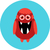 Cute · смешные · глупый · вектора · Монстры · Хэллоуин - Сток-фото © fosin