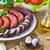 temperos · alho · fresco · salsa · folhas · cerâmico - foto stock © fotoaloja