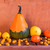houten · tafel · vol · vers · fruit · vruchten · oranje · tabel - stockfoto © fotoaloja