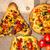 Кука · перец · салями · пиццы · пиццерия · продовольствие - Сток-фото © fotoaloja