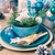 Christmas xmas eve table board setting stock photo © fotoaloja