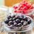 rouge · jar · verre · bois · blanche · table - photo stock © fotoaloja