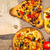 tost · dilimleri · pizza · gıda · ahşap - stok fotoğraf © fotoaloja