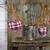 three hearts hanging branches can stock photo © fotoaloja