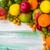 fruits · vintage · bois · automne · alimentaire · nature - photo stock © fotoaloja