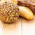 válogatás · különböző · kenyér · friss · ropogós · kenyeres · kosár - stock fotó © fotoaloja