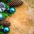 albero · di · natale · abete · rosso · pino · legno · Natale · sfondo - foto d'archivio © fotoaloja