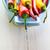 kleurrijk · paprika · kom · witte · grond · voedsel - stockfoto © fotoaloja