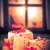 расплывчатый · свет · окна · снега · фон · оранжевый - Сток-фото © fotoaloja