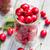 glasses full freshly picked cherries raspberries stock photo © fotoaloja