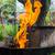 照明 · バーベキュー · 炎 · アップ · グリル · パーティ - ストックフォト © fotoaloja