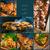 churrasco · colagem · restaurante · churrasqueira · comida · fresco - foto stock © fotoaloja