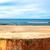 boş · kum · plaj · panorama - stok fotoğraf © fotoaloja