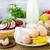 variedad · comestibles · productos · carne · lácteo · madera - foto stock © fotoaloja