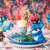 christmas · kerstmis · tabel · decoraties · licht - stockfoto © fotoaloja