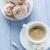 kahve · fincanı · süt · tatlı · tatlı · glasaj · şekeri - stok fotoğraf © fotoaloja