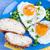 sahanda · yumurta · kalpler · biçim · gıda · sevmek · tıbbi - stok fotoğraf © fotoaloja