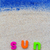 word sun laid sand blue board stock photo © fotoaloja