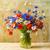 静物 · 花束 · カラフル · 野の花 · 花 · 自然 - ストックフォト © fotoaloja