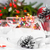 christmas · kerstmis · tabel · decoraties · licht - stockfoto © fotoaloja
