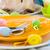 dessert · catering · banket · tabel · vruchten · mint - stockfoto © fotoaloja