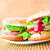 おいしい · 新鮮な · レタス · ケチャップ · 表 - ストックフォト © fotoaloja