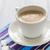 fehér · kávé · csésze · bab · asztal · textúra - stock fotó © fotoaloja