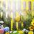 пасхальных · яиц · цветы · bokeh · красочный · украшенный - Сток-фото © fotoaloja