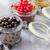 beyaz · siyah · kırmızı · frenk · üzümü · meyve · üç - stok fotoğraf © fotoaloja