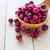 cuchara · de · madera · Berry · madera · frutas - foto stock © fotoaloja