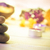 session spa pile zen stones burning candles stock photo © fotoaloja