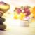 fürdő · gyertya · kövek · gyertyák · kiegyensúlyozott · zen - stock fotó © fotoaloja