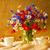 vaso · velho · mesa · de · madeira · flor · folha · verão - foto stock © fotoaloja