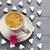 femenino · corazón · mano · fondo · beso · rojo - foto stock © fotoaloja
