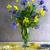 still life bouquet cornflowers rape stock photo © fotoaloja