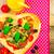 pizza · peynir · et · sebze · ahşap - stok fotoğraf © fotoaloja