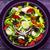 brut · casse-croûte · légumes · olives · dîner · plaque - photo stock © fotoaloja