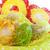 művészet · húsvét · üdvözlőlap · húsvéti · tojások · virág · papír - stock fotó © fotoaloja
